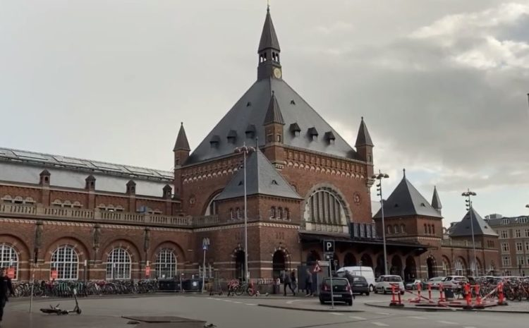 estación central de copenhague